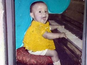 Imagem de criança em quadro assusta moradores no Sul de Minas. (Foto: Thompson Araújo)