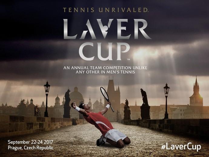 Laver Cup anúncio (Foto: Divulgação)
