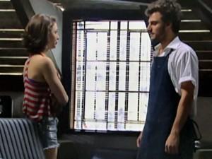 Micaela conta decisão pra Martin (Foto: Malhação / TV Globo)