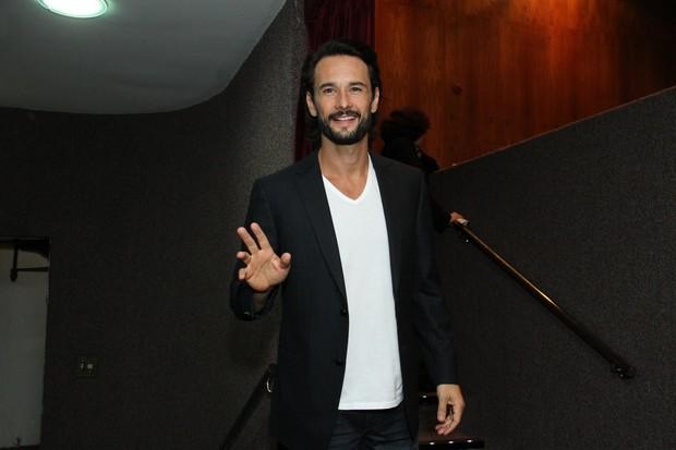 Rodrigo Santoro em prêmio de cinema (Foto: Thyago Andrade / Foto Rio News)