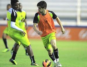 Juninho treino Vasco em Macaé (Foto: Marcelo Sadio / Vasco.com.br)