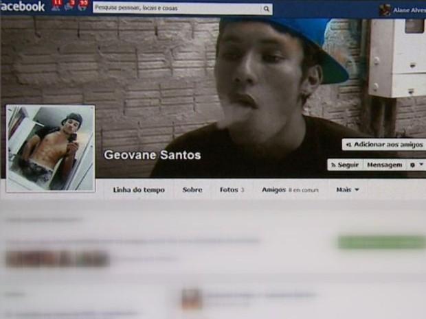 Rapaz de 21 anos é suspeito de estuprar 14 adolescentes em São Carlos (Foto: Reprodução/ Facebook)