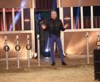Roberto Justus em 'A fazenda' | Antonio Chahestian/Record