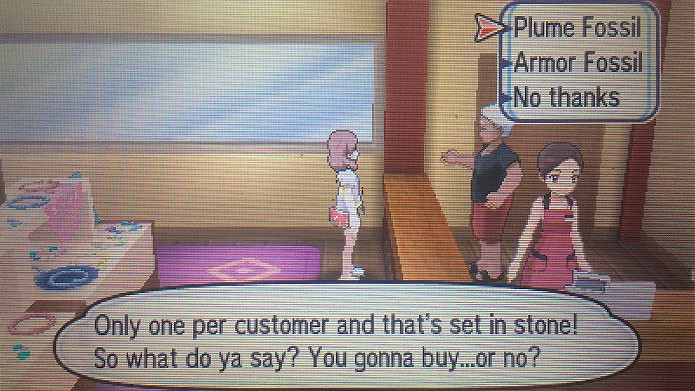 Como pegar e reviver pokémon fósseis em Pokémon Sun e Moon (Foto: Reprodução/Tais Carvalho)