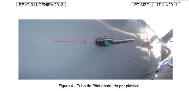 relatório Pitot cenipa (Foto: Cenipa/reprodução)