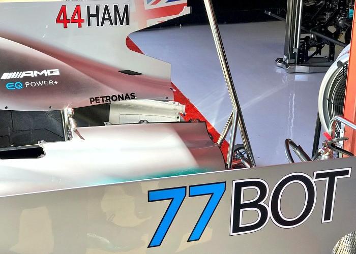 Novos números Mercedes