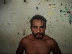 José Delvanor estava morando em Filadélfia, no norte do estado (Foto: Polícia Civil do TO/Divulgação)