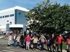 Pacientes fazem protesto em frente ao Hospital do Câncer de Jales