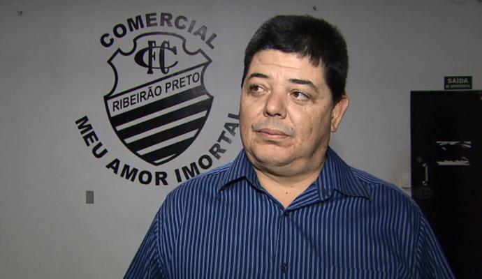 Rogério Vieira, vice-presidente do Comercial (Foto: Reprodução EPTV)