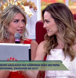 Giovanna Ewbank entrega que já pensa em ter filhos (TV Globo)