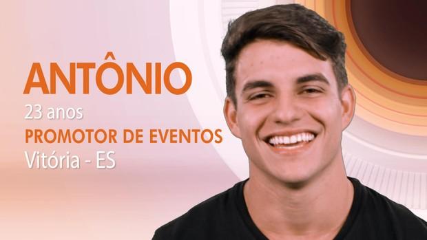 Antônio BBB (Foto: Globo)