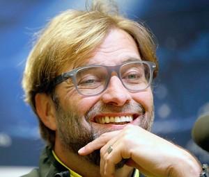 Juergen Klopp na coletiva do Borussia Dortmund (Foto: Reuters)