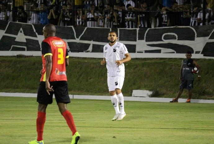 ABC - Túlio Renan, atacante - ABC x Globo FC (Foto: Andrei Torres/ABC FC/Divulgação)