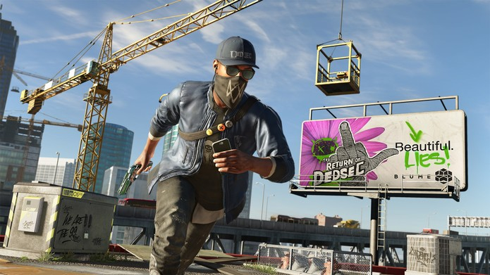 Watch Dogs 2 chega ao PC (Foto: Divulgação/Ubisoft)