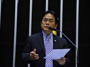 Deputado federal Hidekazu Takayama  (Foto: divulgação/ Câmara dos Deputados)