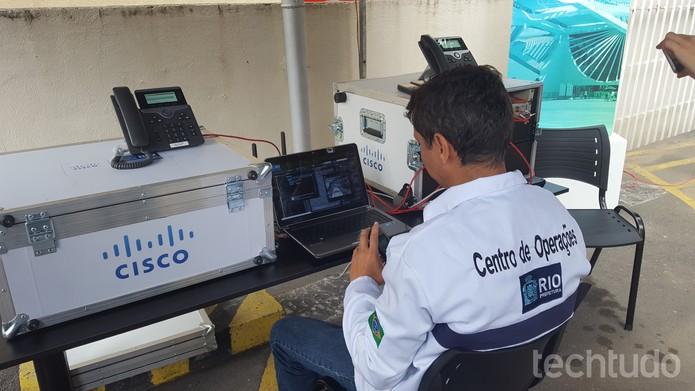 Unidade móvel do COR será um legado olímpico (Foto: Aline Batista/TechTudo)