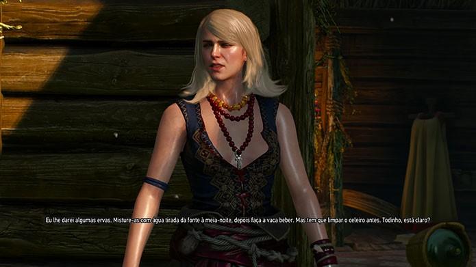 The Witcher 3 tem alguns problemas, entre eles defeitos técnicos (Foto: Reprodução/Felipe Vinha)