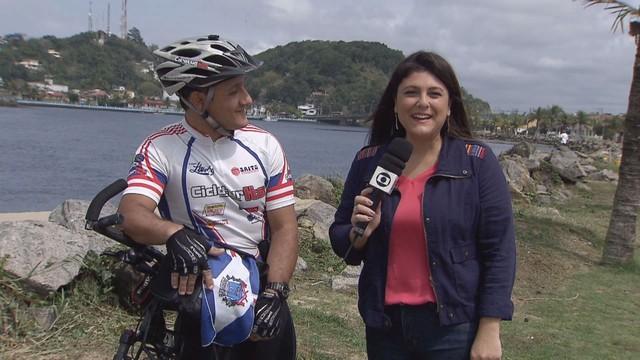 Janaina Hohne para o Viver Bem (Foto: Reprodução/TV Tribuna)