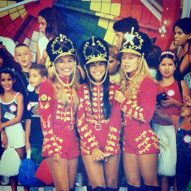 Andrezza Cruz, Caren Lima e Bárbara Borges (Foto: Instagram/Reprodução)