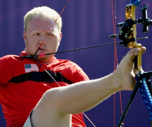 O fenômeno Matt Stutzman (Foto: Dennis Grombkowski/Getty Images)