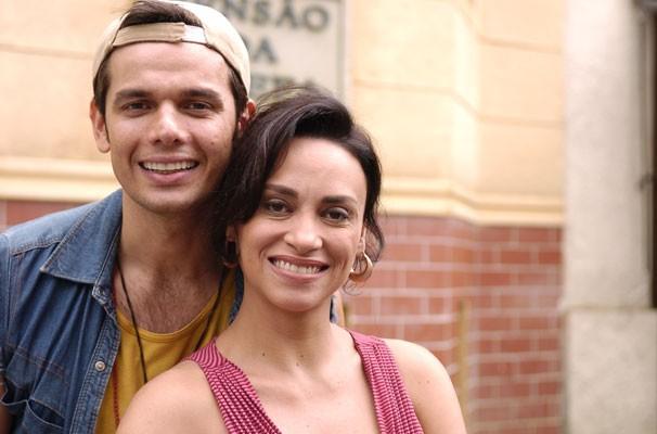 Adenor (Otaviano Costa) e Ivonete (Suzana Pires) (Foto: Divulgação/ Globo)