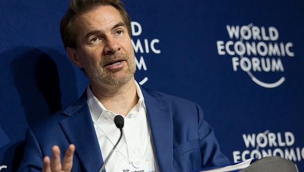 Erik Brynjolfsson, diretor do MIT (Foto: Divulgação/World Economic Forum/Sandra Blaser)