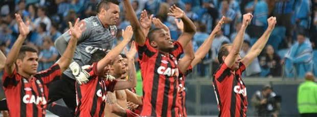 Atlético-PR garante vaga na decisão (Foto: Site oficial do Atlético-PR/Gustavo Oliveira)