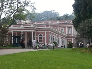 Museu Imperial em Petrópolis (Foto: Fernanda Soares/G1)