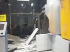 Criminosos explodem agência bancária em Riachão do Dantas