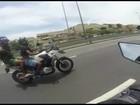'Estou morto', pensou motociclista que fugiu de assalto na Linha Amarela