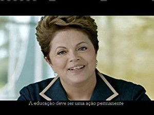 Dilma afirma na TV que não vai 'descuidar nunca' da inflação