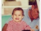 Lívian Aragão posta foto da infância ao lado do pai