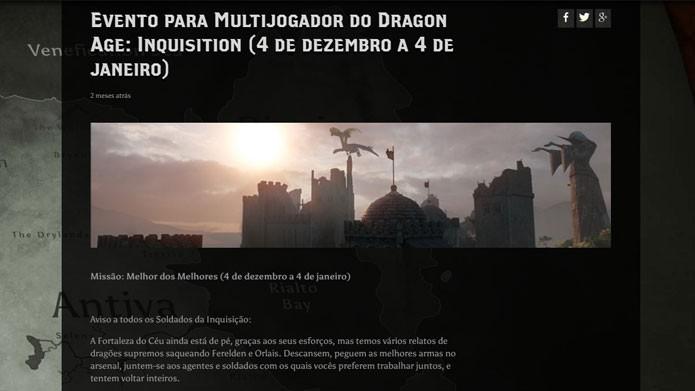 Participe dos eventos para ganhar bônus e itens (Foto: Reprodução/Tais Carvalho)