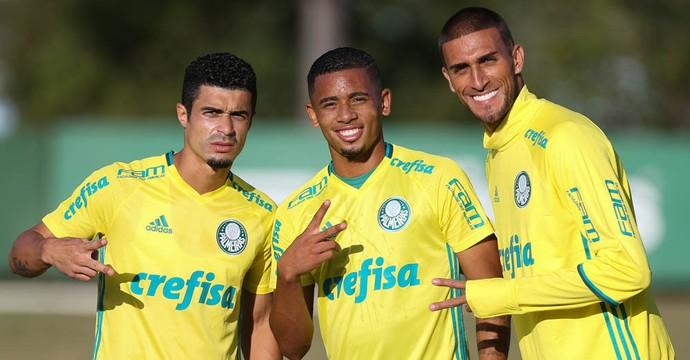 Egídio Gabriel Jesus Rafael Marques Palmeiras (Foto: Cesar Greco/Ag Palmeiras/Divulgação)