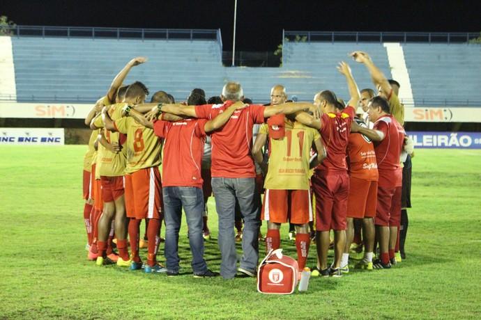 Princesa do Solimões vence o Palmas na Série D (Foto: Edson Reis/GloboEsporte.com)