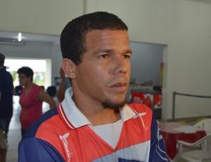 Edilsinho fala sobre primeiro jogo contra o Brasiliense (Foto: Lauane Sena)
