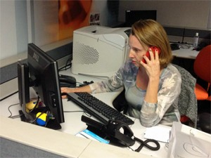 Ana Escalada é a editora-chefe do Profissão Repórter (Foto: Ana Carolina Moreno/G1)
