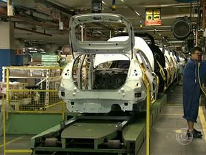 indústria automotiva (Foto: Reprodução/TV Globo)