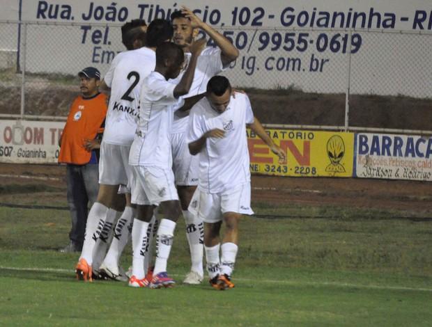 Lincom gol Bragantino (Foto: Frankie Marcone / Ag. Estado)