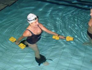 Hidroterapia cirurgia no quadril eu atleta (Foto: Divulgação)