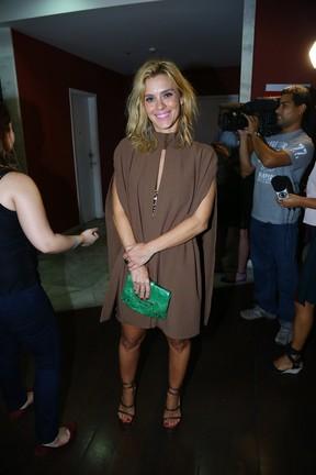 Carolina Dieckmann em pré-estreia de filme (Foto: Marcello Sá Barretto/AgNews)