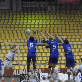 Mogi das Cruzes Santos vôlei Campeonato Paulista sub-21 (Foto: Thiago Fidelix)