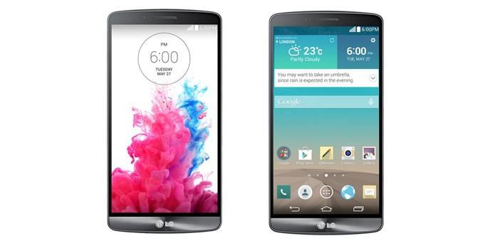 Interface do LG G3 (Foto: Reprodução/ LG)