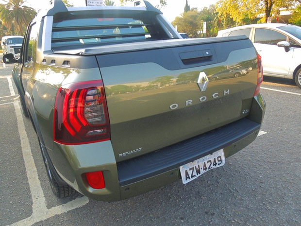 Renault Duster Oroch (Foto: Luciana de Oliveira/G1)