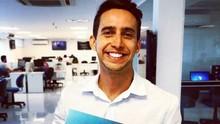 Klênyo Galvão assume as notícias do esporte no Bom Dia RN (Arquivo Pessoal de Klênyo Galvão)