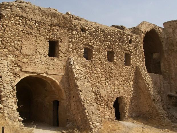 O mosteiro era local de peregrinação, diz religioso iraquiano (Foto: Col. Juanita Chang/U.S. Army via AP)