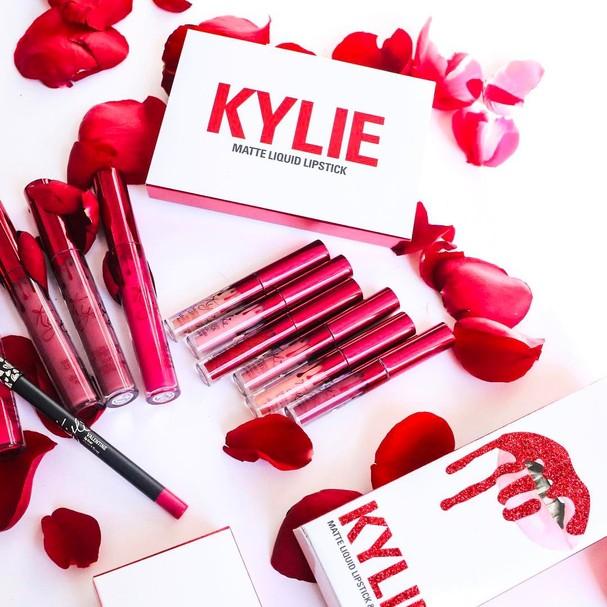 Coleção Valentine's Day, da Kylie Cosmetics (Foto: Reprodução Instagram)