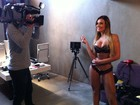 Andressa Urach grava documentário holândes sobre bumbum em SP