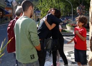 Bento conhece Simone (Foto: Sangue Bom / TV Globo)
