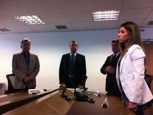 Delegada nega prisão por racismo contra suspeita de matar italiana (Foto: Gabriela Alves/G1)